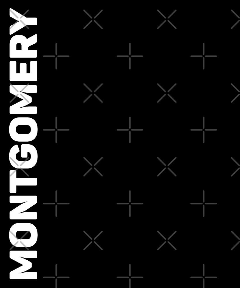 Montgomery T-Shirt by designkitsch
