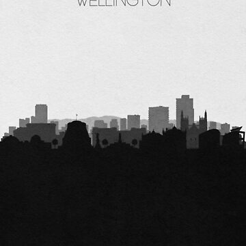 Travel Posters | Destination: Wellington by geekmywall