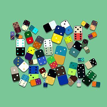 Domino Pattern by monicamarcov