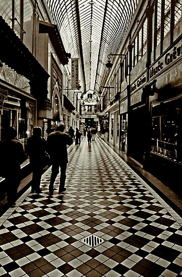passage Jouffroy, Boulevard Montmartre, Paris by Andrew Jones