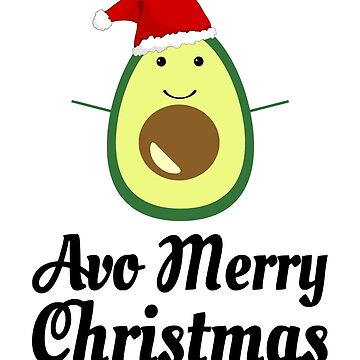 Avo Merry Christmas by coolfuntees