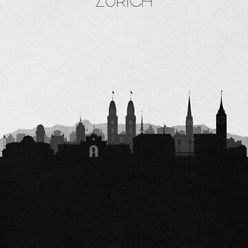 Travel Posters | Destination: Zurich by geekmywall