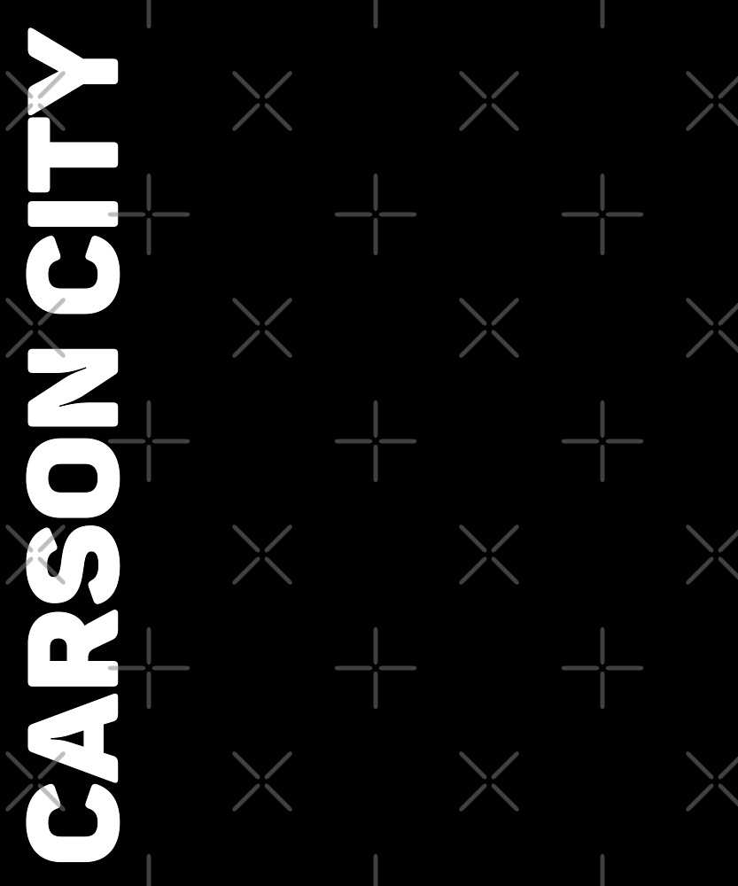 Carson City T-Shirt by designkitsch