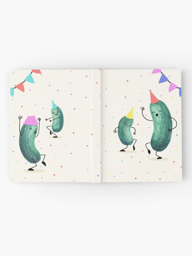 Alternate view of Pickle Party! Hardcover Journal