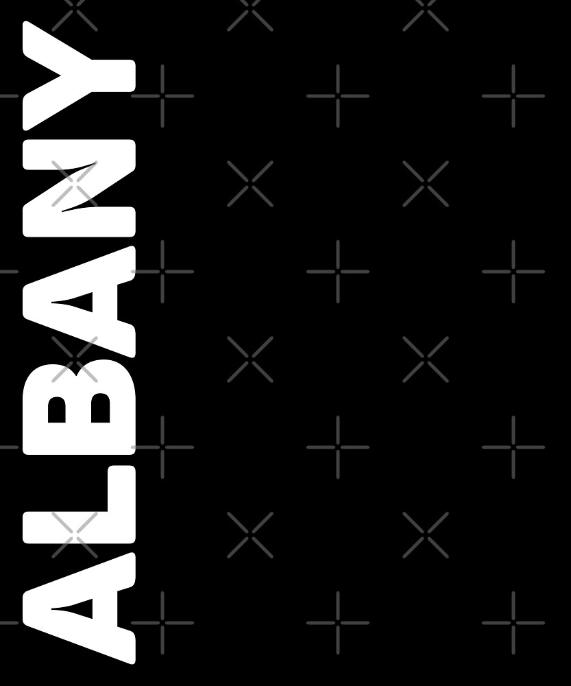 Albany T-Shirt by designkitsch