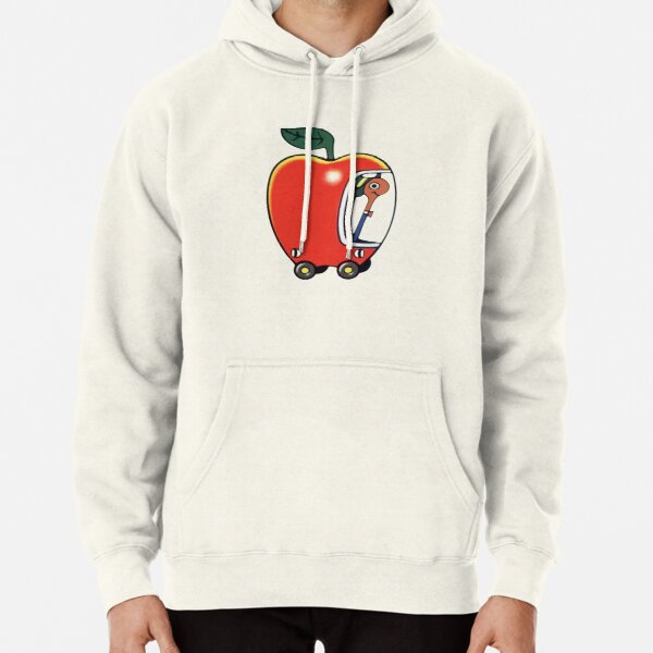 Lowly the Worm and His Apple Car Pullover Hoodie
