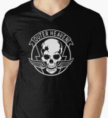 OUTER HEAVEN Men's V-Neck T-Shirt