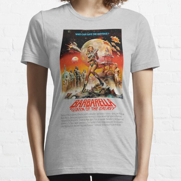 Barbarella - Queen Of The Galaxy - 1968 - Who Can Save the Universe - Vintage Retro Movie Poster, Films Posters Essential T-Shirt