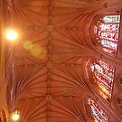 Washington National Cathedral DC Looking Up by AnnDixon