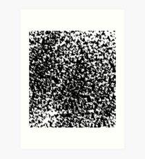 Fragment Particles  Art Print