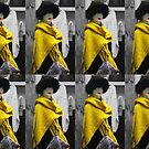 Mannequin in Yellow - Collage by Graham Geldard