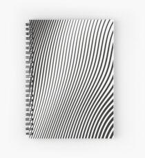 WAVE (BLACK) Cuaderno de espiral