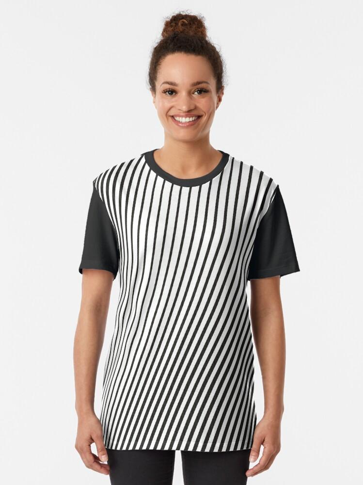 Vista alternativa de Camiseta gráfica WAVE (BLACK)