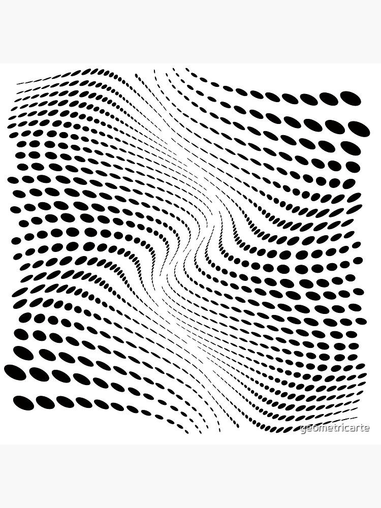 THE RIVER (BLACK) de geometricarte