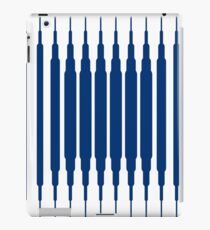 SQUARE LINE (BLUE) Vinilo o funda para iPad