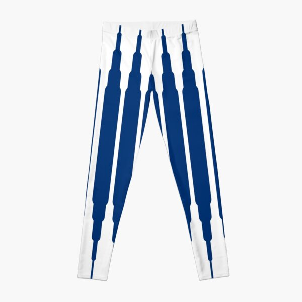 SQUARE LINE (BLUE) Leggings