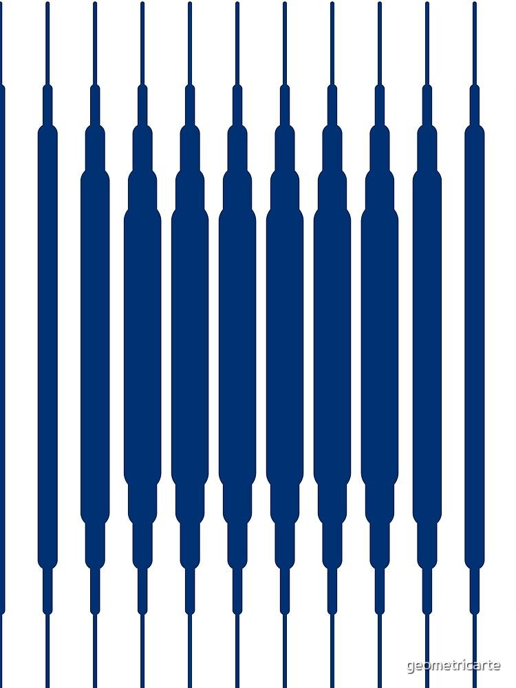 SQUARE LINE (BLUE) de geometricarte