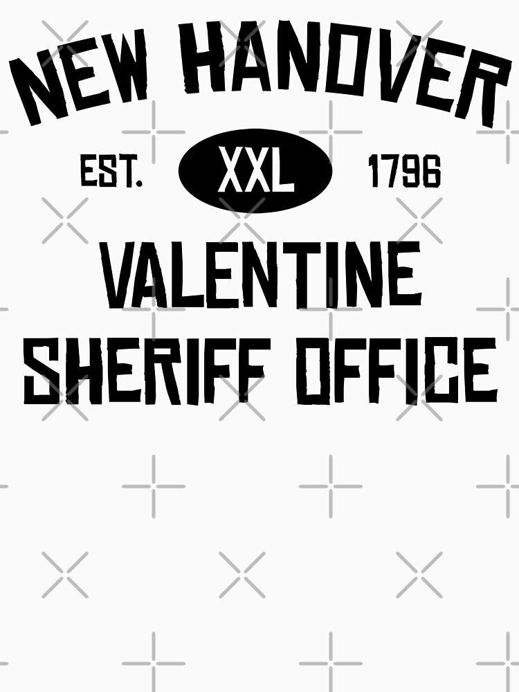 New Hanover Sheriff Office Classic T Shirt By Clutchdizzy Redbubble