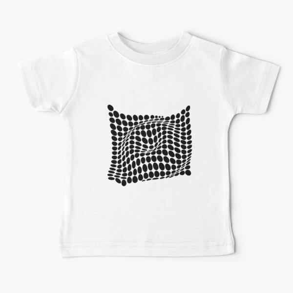 COME INSIDE (BLACK) Camiseta para bebés