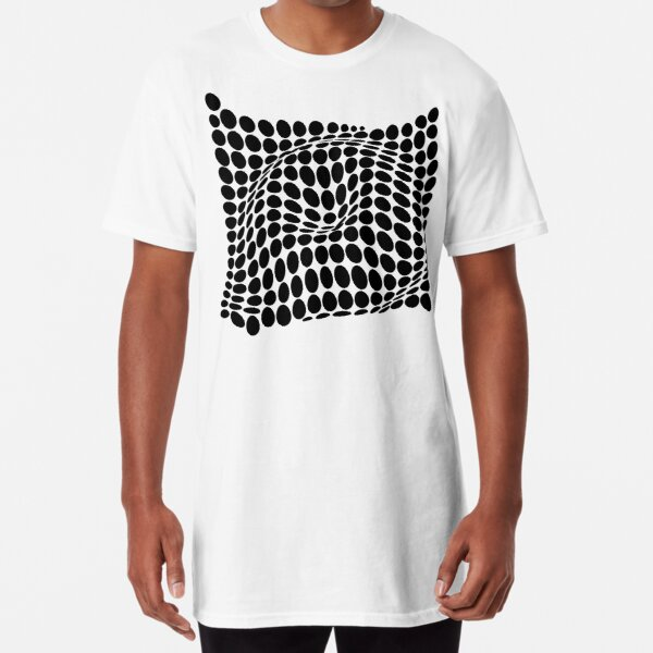 COME INSIDE (BLACK) Camiseta larga