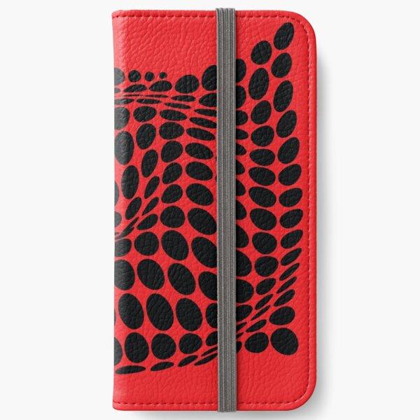COME INSIDE (RED/BLACK) Fundas tarjetero para iPhone