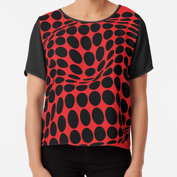 COME INSIDE (RED/BLACK) Blusa