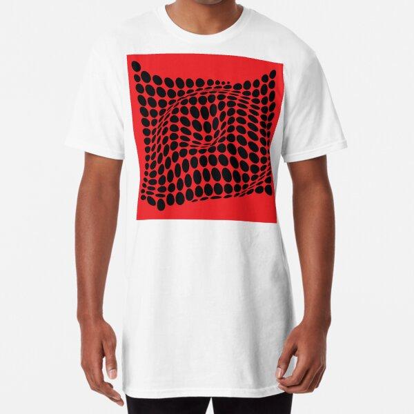 COME INSIDE (RED/BLACK) Camiseta larga