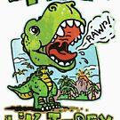 I'm a T Rex dinosaur by MudgeStudios