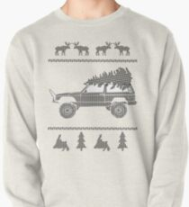 Ugly Christmas Sweater Jeep Cherokee pattern Pullover