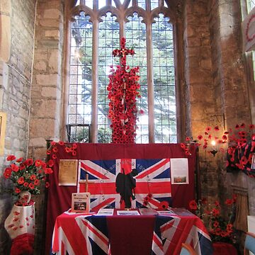 Side Chapel Remembrance by lezvee