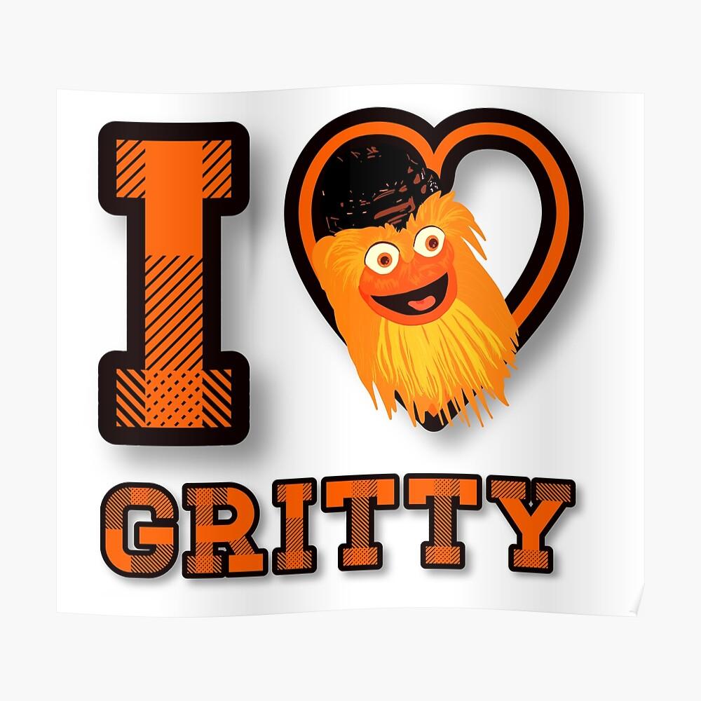 Amo a Gritty Póster