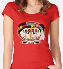 Los Novios (Spanish) Women's Fitted Scoop T-Shirt