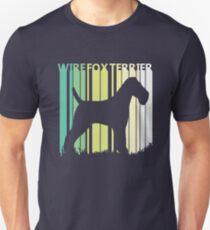 Cute Wire Fox Terrier Silhouette Unisex T-Shirt