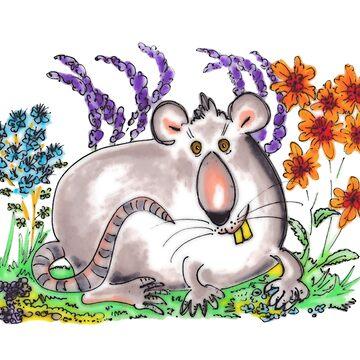 Fat Rat by cuprum
