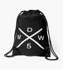 black why dont logo -  Drawstring Bag