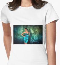 Grunge Fashion Fine Art Print Women's Fitted T-Shirt