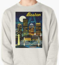 BOSTON : Vintage Travel Advertising Print Pullover