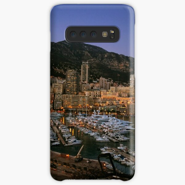 Beauty of Monaco Bay Samsung Galaxy Snap Case