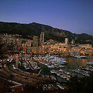 Beauty of Monaco Bay by gabriellaksz