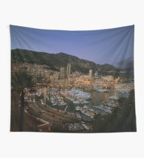 Beauty of Monaco Bay Wall Tapestry