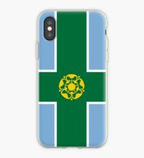 Flag of Derbyshire, UK iPhone Case