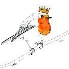 King Robin Redbreast by Carmen de Bruijn