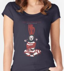 The Tell Tale Heart Women's Fitted Scoop T-Shirt