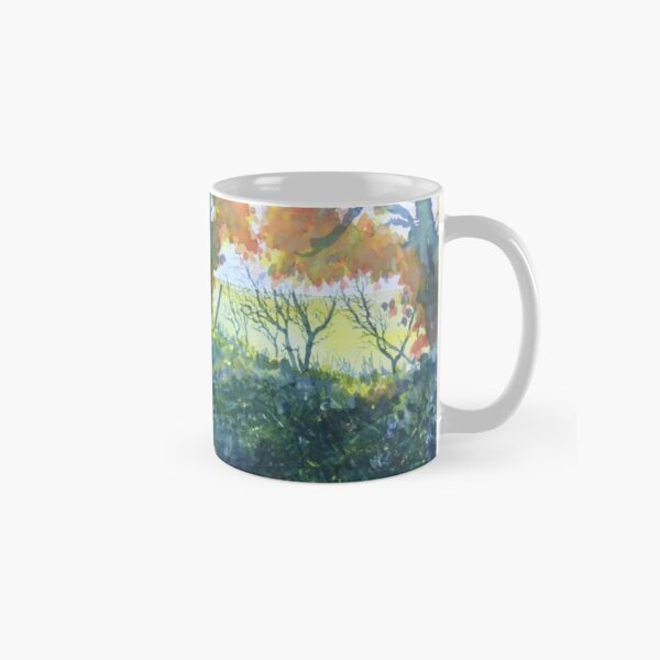 The Tunnel in Autumn Classic Mug