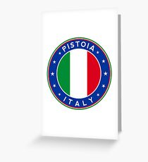 Pistoia, Italy Greeting Card