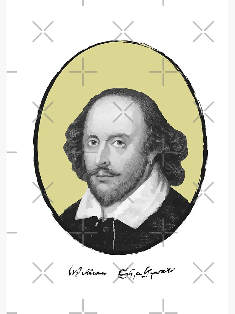 William Shakespeare by PrintablesP