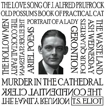 TS Eliot Works by silentstead