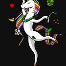 Unicorn Vegan Magical Vegetarian by Nikolay Todorov