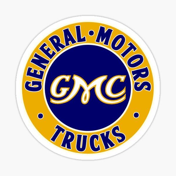 GMC - General Motors Trucks Sticker