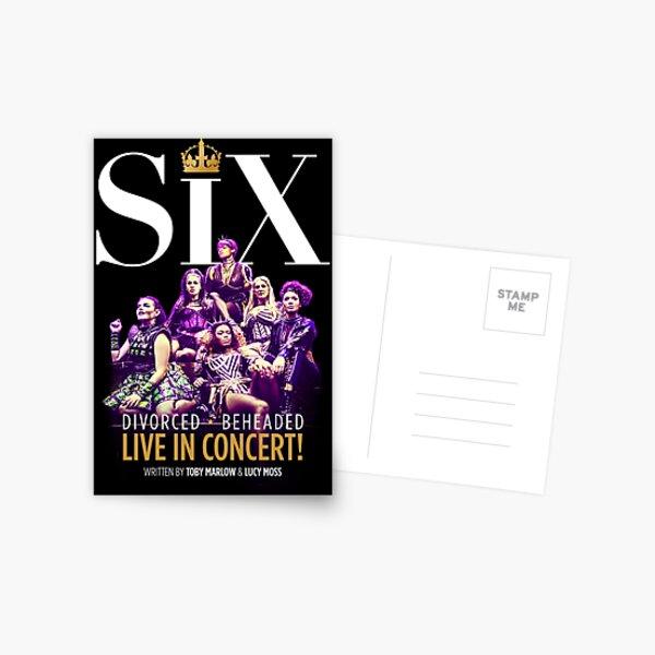 Six the musical Postcard
